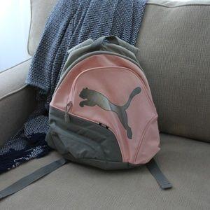 🌻Puma Pink and Grey Mini Backpack